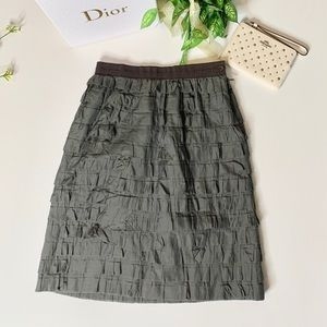 Piazza Sempione knee length tiered skirt